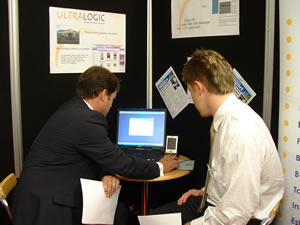 Demonstrating at the Staffs In-Business Show
